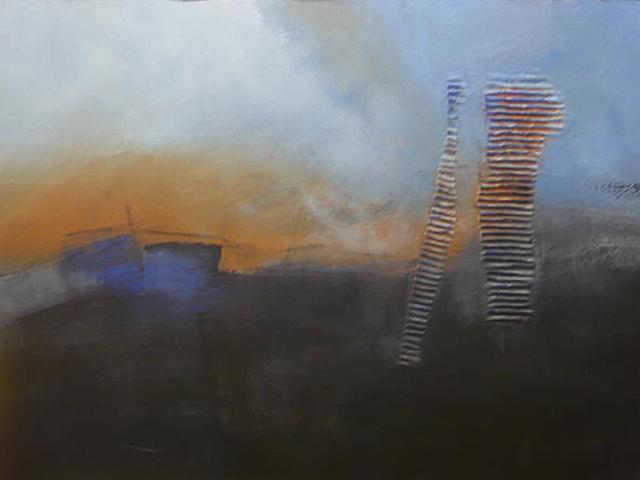 kunstfabrik abstrakt aufstieg