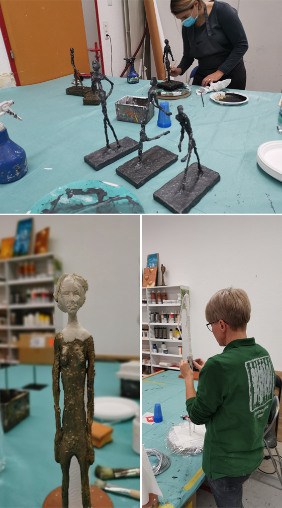 kunstfabrik skulptur kurs